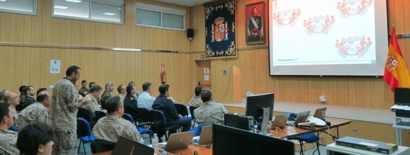 El Mando Conjunto de Ciberdefensa se adiestra simultáneamente con las Fuerzas Armadas